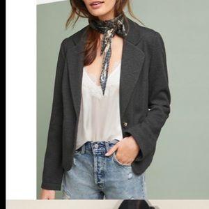 Anthropologie Cartonnier Grey Blazer S